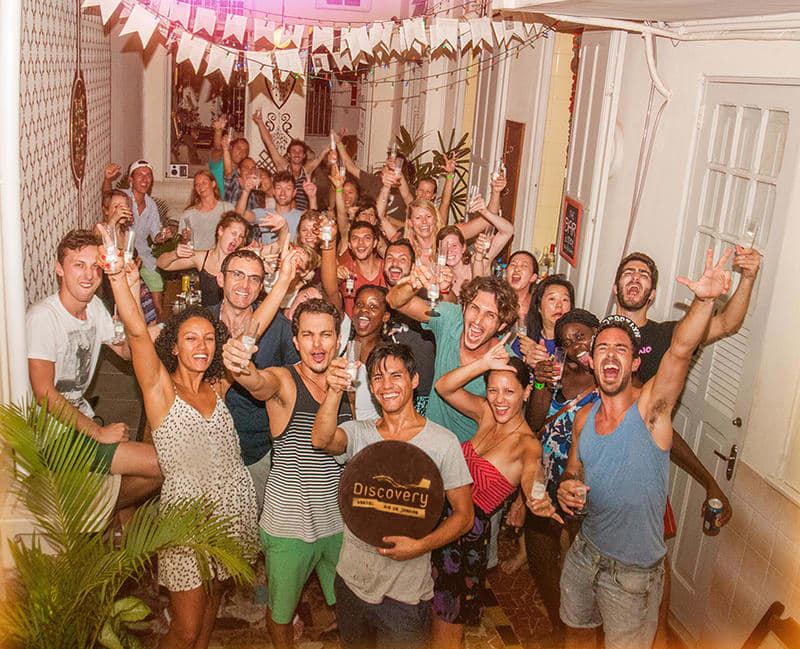 5 Besten Partyhostels in Rio de Janeiro