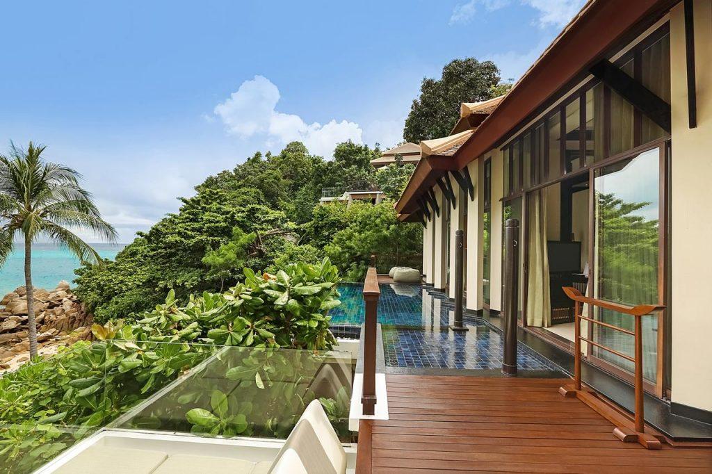 Banyan Tree Samui Luxusbungalow Thailand