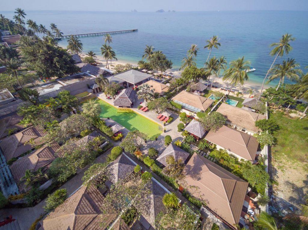 Luxus Strandbungalows Thailand