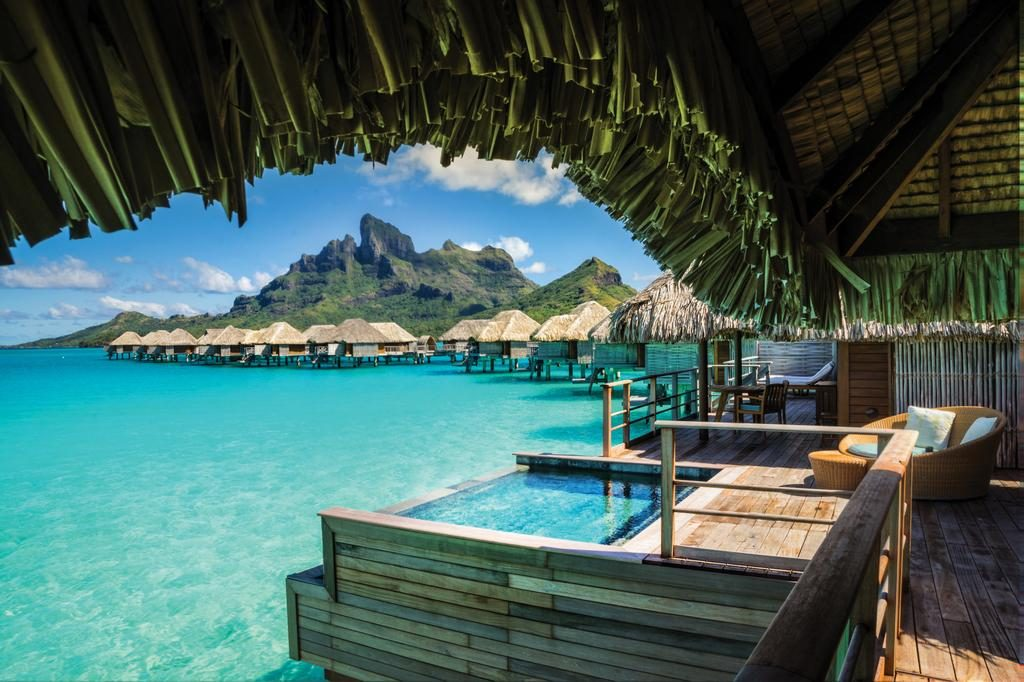 Wasserbungalows Four Season Resort Bora Bora