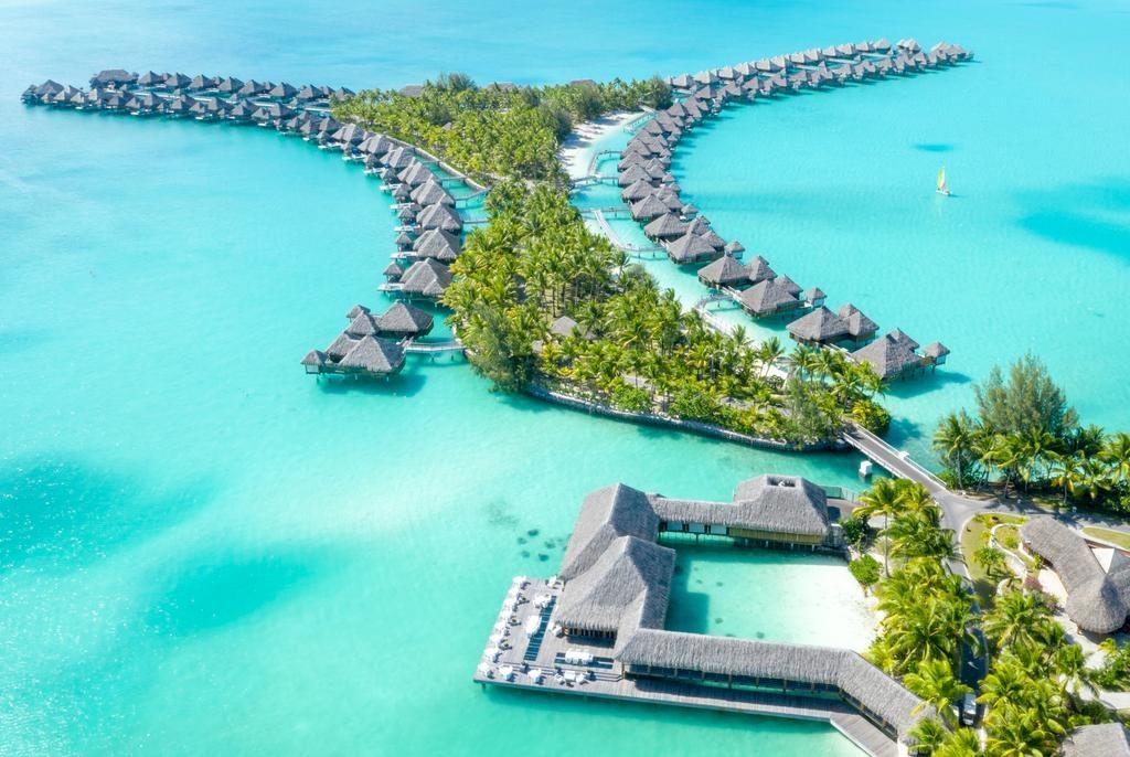 4 Wasserbungalows auf Bora Bora voller Luxus