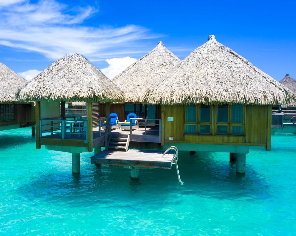 Die schönsten wasserbungalows auf Bora Bora