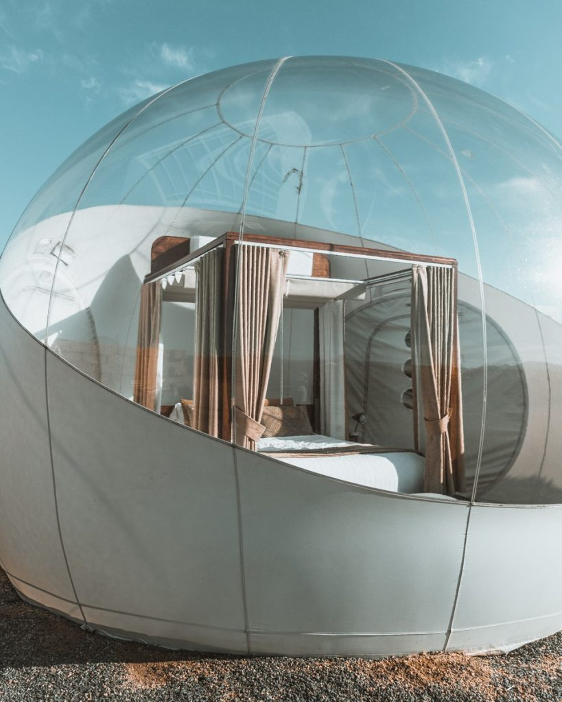 Bubblehotel Mexiko