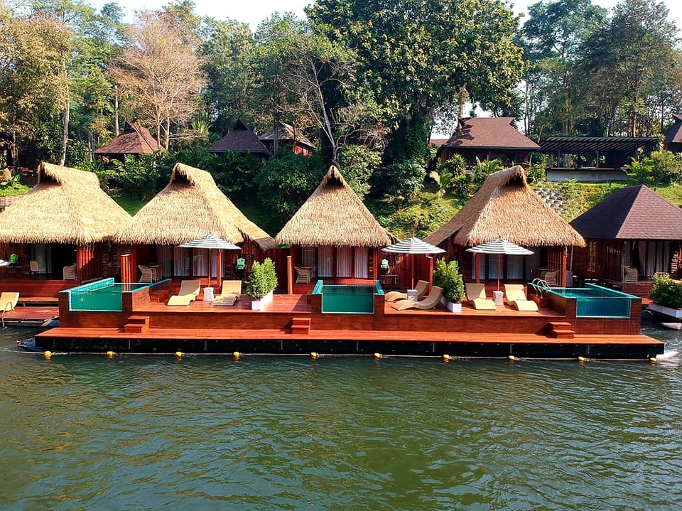 Wang Nok Kaew Park View Resort Wasserbungalows