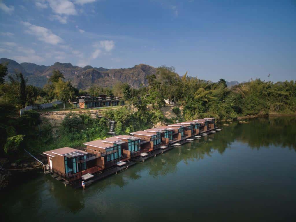 Kwai Tara Riverside Villas - Wasserbungalows in Thailand