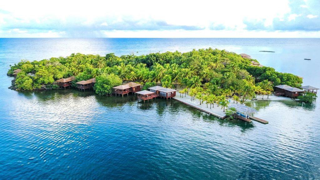 Wasserbungalows Karibik