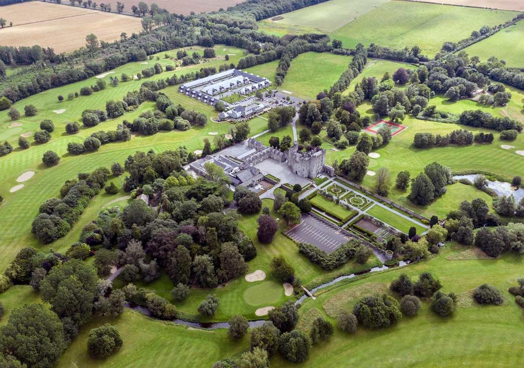 kilkea- Beste Schlosshotels irland