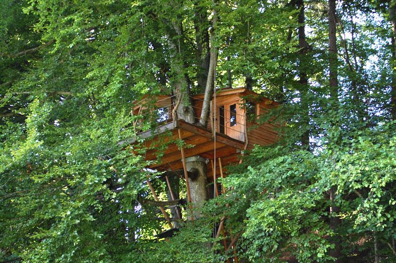 Baumhaushotels in Süddeutschland